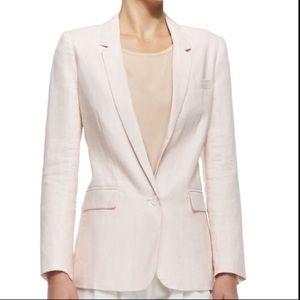 Joie Mehira 100% Linen Blazer Size 8